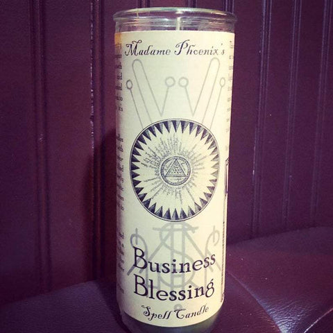 7 Day Candle - Business Blessing by Madame Phoenix