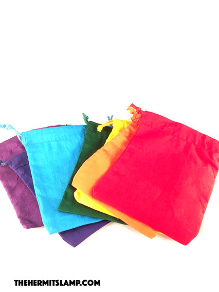 Colourful Cotton Bags