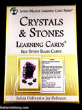 Crystals & Stones Learning Cards