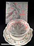 The Cup of Destiny: A Traditional Fortune-Teller's Cup & Saucer plus Illustrated Book