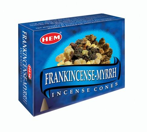 HEM Frankincesne and Myrrh Incense Cones