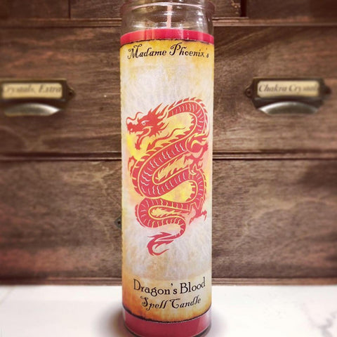 7 Day Candle - Dragon's Blood by Madame Phoenix