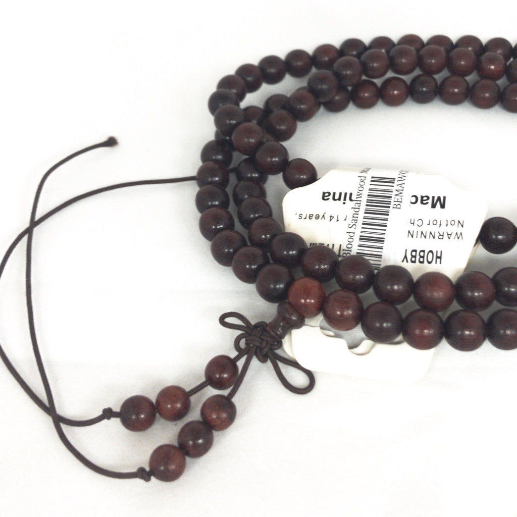 Blood Sandalwood Bead Mala