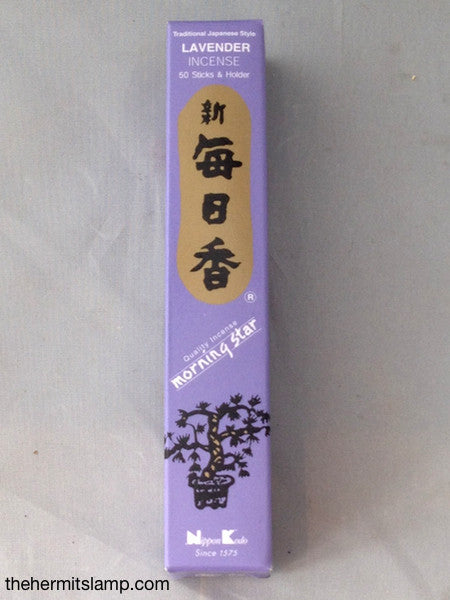 Morningstar Incense Lavender