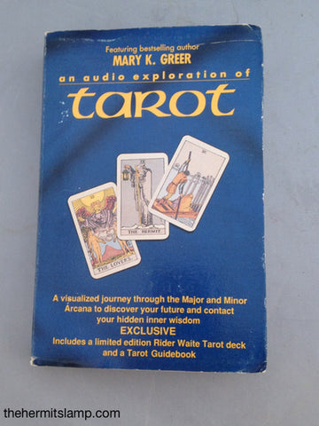 An Audio Exploration of Tarot by Mary K. Greer Second Hand Out of Print