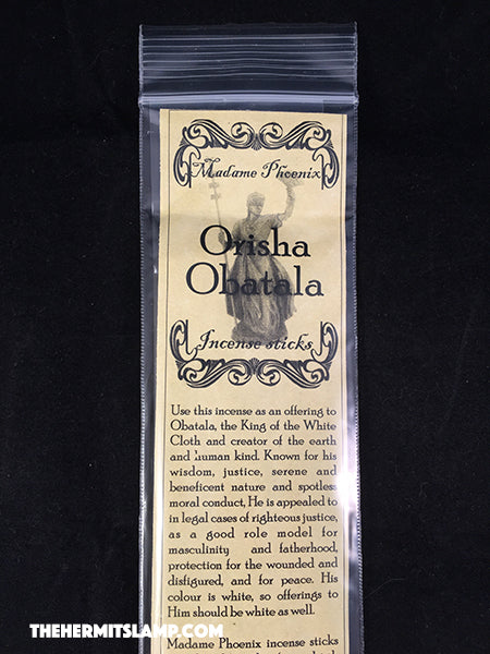 Orisha Obatala Incense Sticks