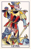 Playing Marseille Tarot
