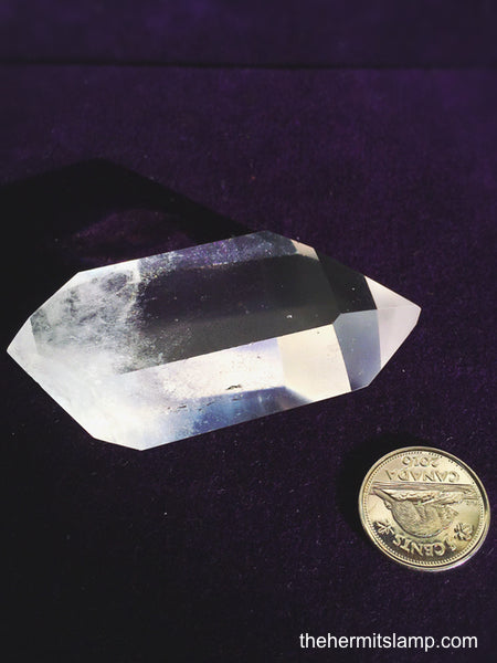 Double Terminated Polished Quartz Point