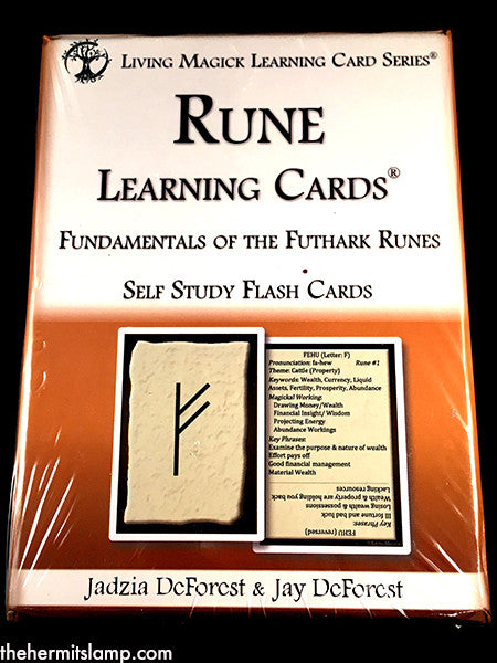 Rune Learning Cards