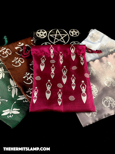 Artificial Silk Bags with Design
