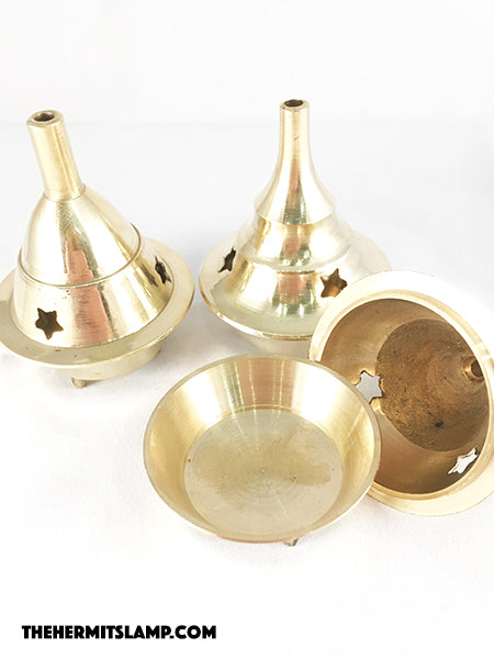 Brass Incense Burner - Small