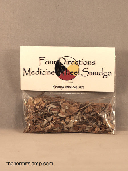 Four Directions Medicine Wheel Smudge