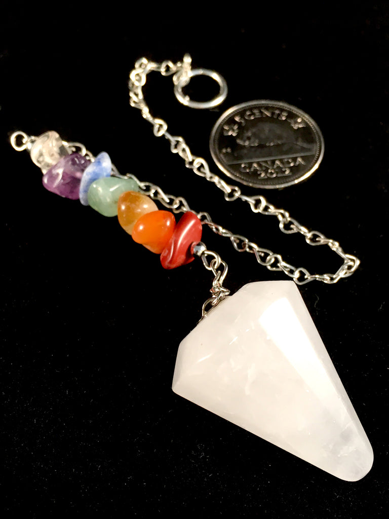 Snow Quartz Pendulum