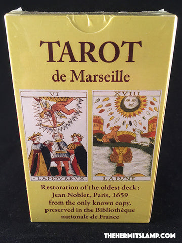 Jean Noblet - Tarot de Marseille - Photo Reproduction