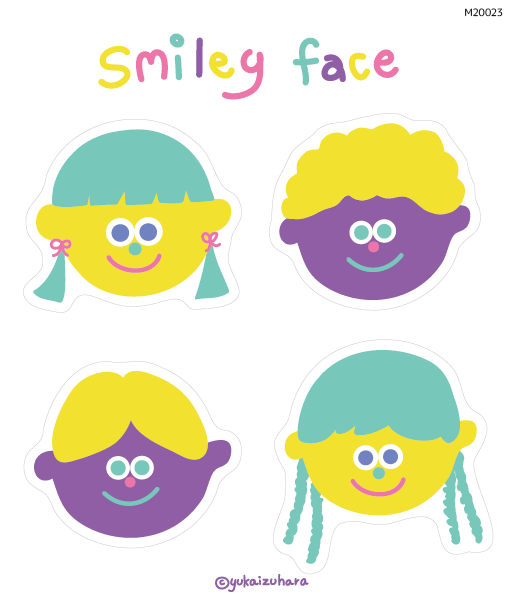 smiley face        (M20023)