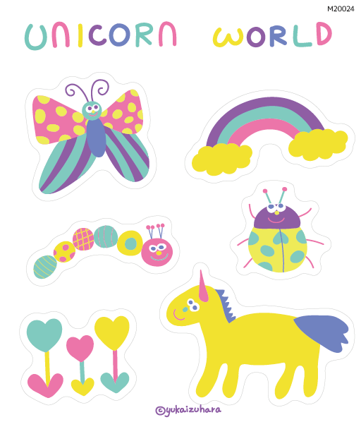 unicorn world        (M20024)