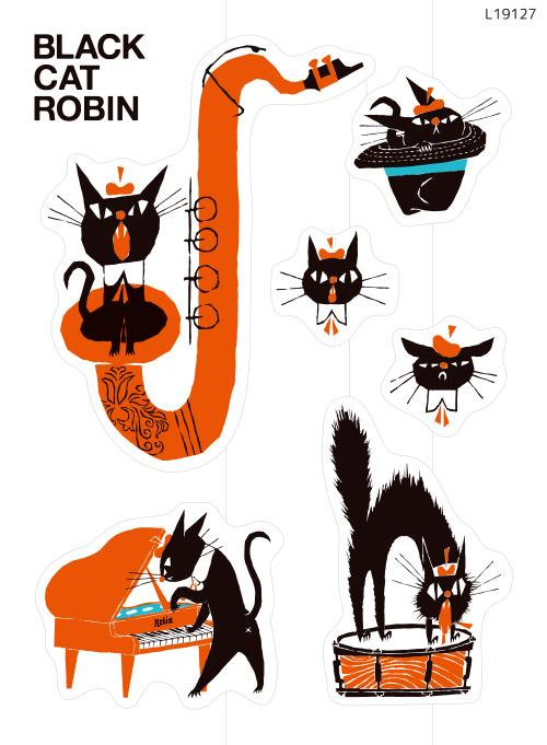 BLACK CAT ROBIN 2(L19127)