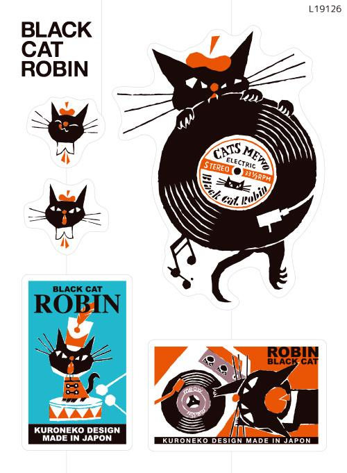 BLACK CAT ROBIN 1(L19126)