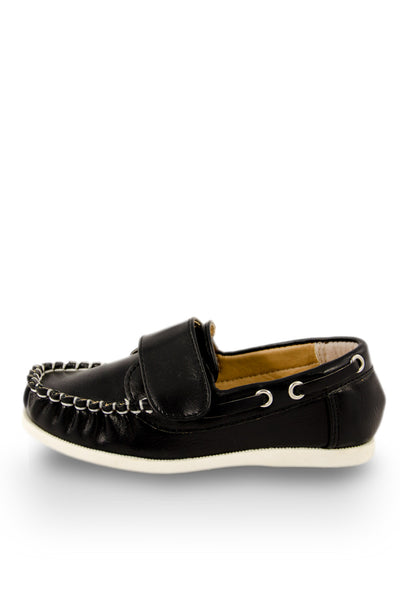 Black Dockside Boat Shoe