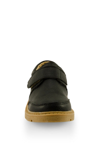 Black Boys Handsome Shoe toe view at Twinkie
