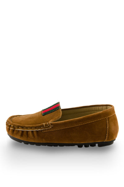 Brown Summer Time Boat Shoe