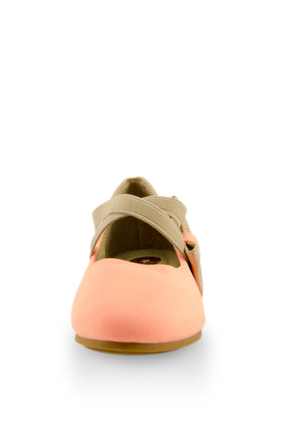 Soft Pink Night Out Flats