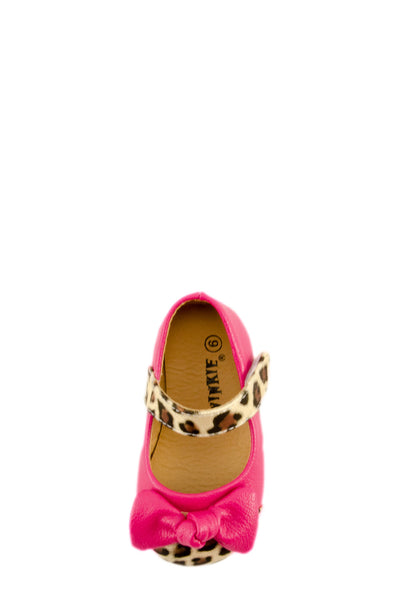 Pink Trendsetter Leopard Mary Jane Shoes