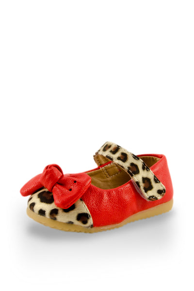Red Trendsetter Leopard Mary Jane Shoes