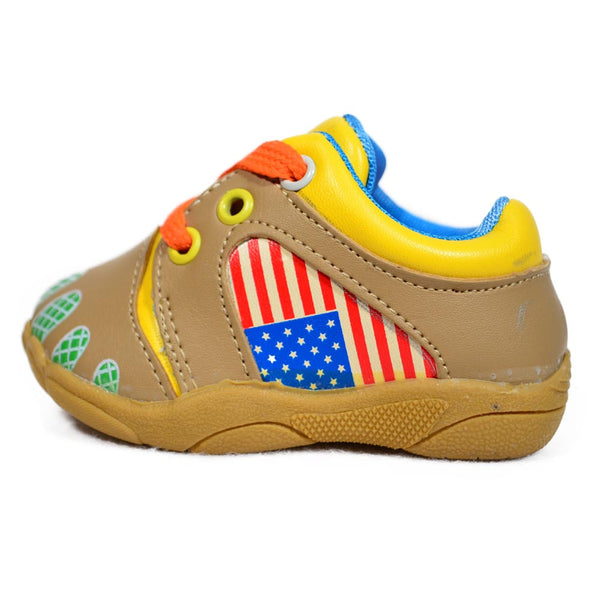 Brown American Hero Sports Shoes side view at Twinkie
