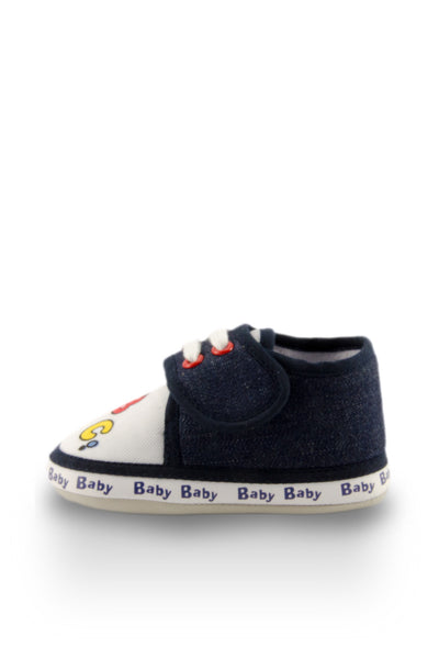 Navy Blue ABC Mini Training Shoes side view at Twinkie
