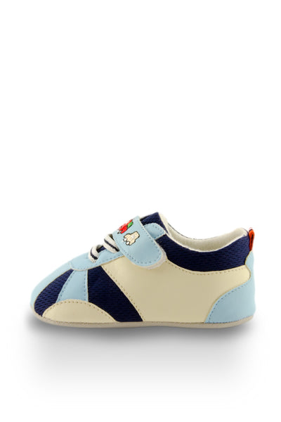 Blue Baby Speedy Sport Mini Training Shoes side view at Twinkie