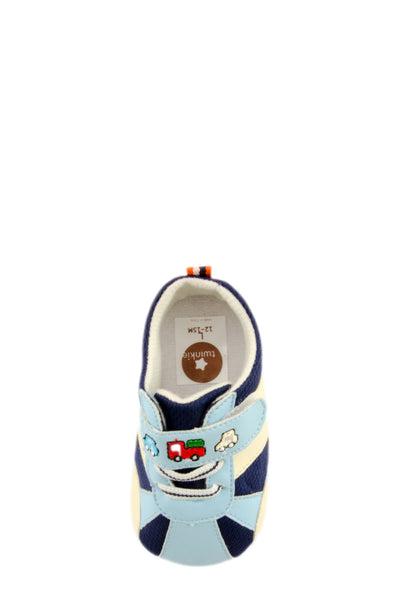 Blue Baby Speedy Sport Mini Training Shoes top view at Twinkie