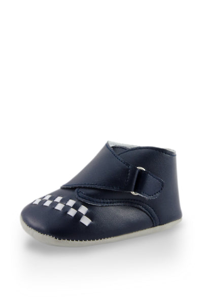 Navy Blue Baby Euro High Cuff Mini Training Shoes at Twinkie