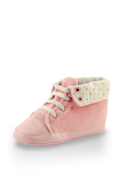 Light Pink High Cuff  Mini Training Shoes