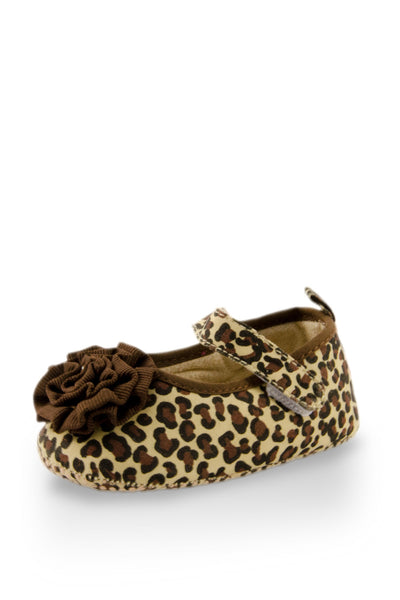 Brown lovely Leopard Print Shoes at Twinkie