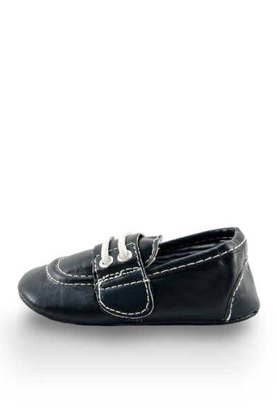 Navy Blue Boat Shoe Style Training Shoe from Twinkie