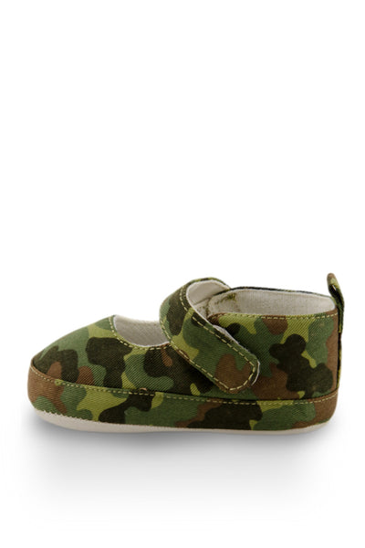 Army Print Flats Training Shoe