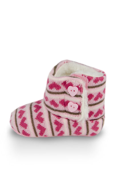 Full of Heart High Cuff Furry Training Boot