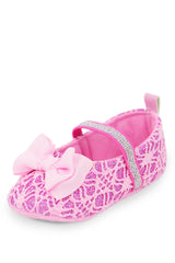Pink Bow Mary Jane Style Training Shoe