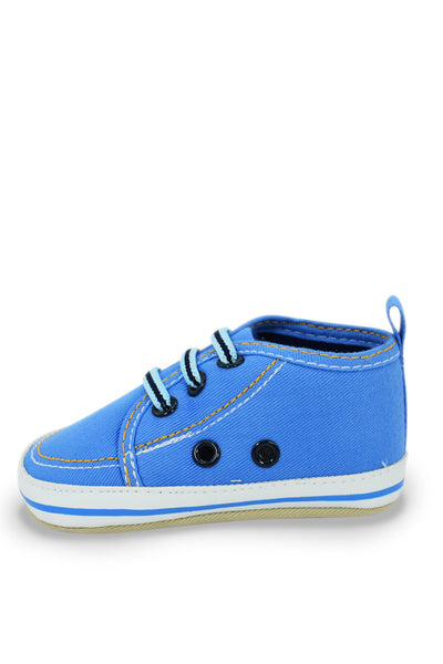 Blue Mid Cuff Sneaker Training Shoe