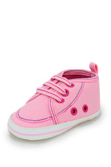 Pink Mid Cuff Sneaker Training Shoe