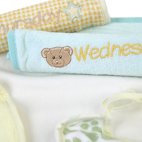 English Daily Baby Bib Set
