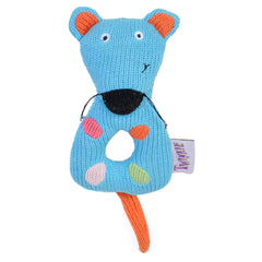 Knitted Mouse Rattle