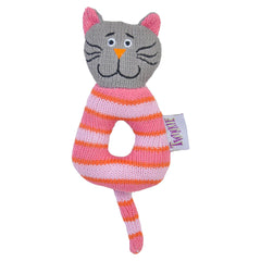 Knitted Cat Rattle
