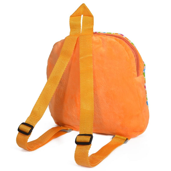 Orange Patched Butterfly Backpack - Twinkie - Back View