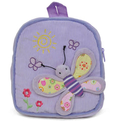 Purple Butterfly Design Backpack