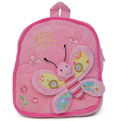 Pink Butterfly Design Backpack