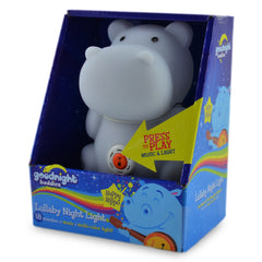 Happy Hippo Lullaby Night Light