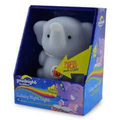 Lucky Elephant Lullaby Night Light