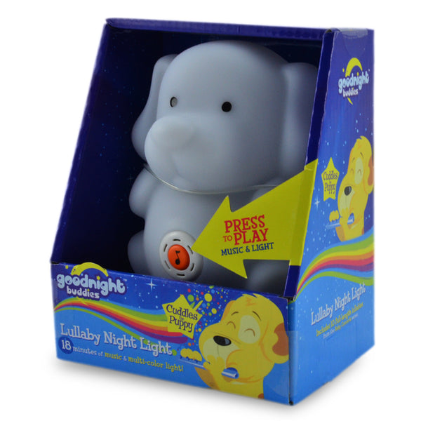 Cuddles Puppy Lullaby Night Light